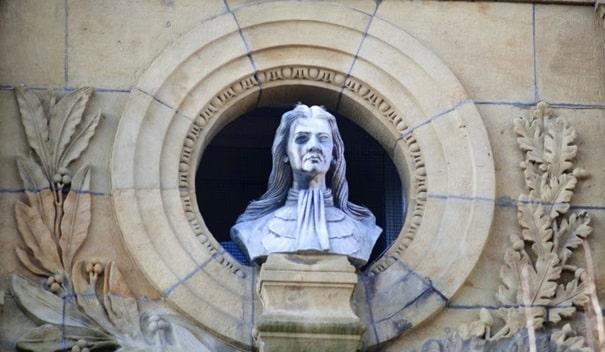 Blas de Lezo estatua San Sebastian