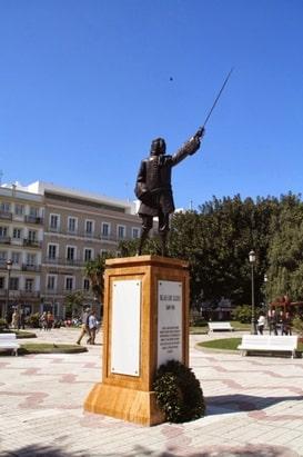 Blas de Lezo estatua Cadiz
