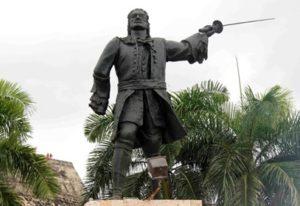 Estatua blas de lezo cartajena indias