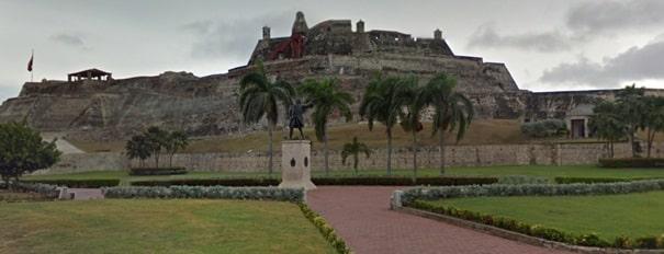 Blas de lezo estatua cartajena fortaleza