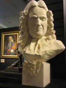 Blas de Lezo busto piedra