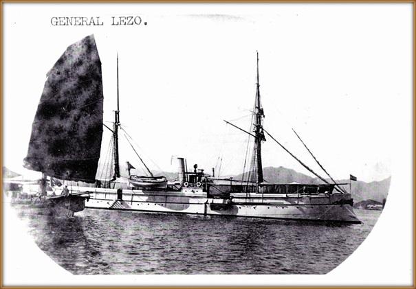 Cañonero General Blas de Lezo Elcano