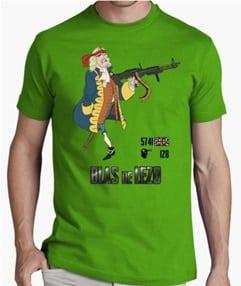 Blas de Lezo camiseta Verde