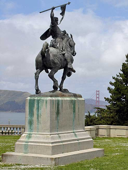 Estatua del Cid Campeador San Francisco