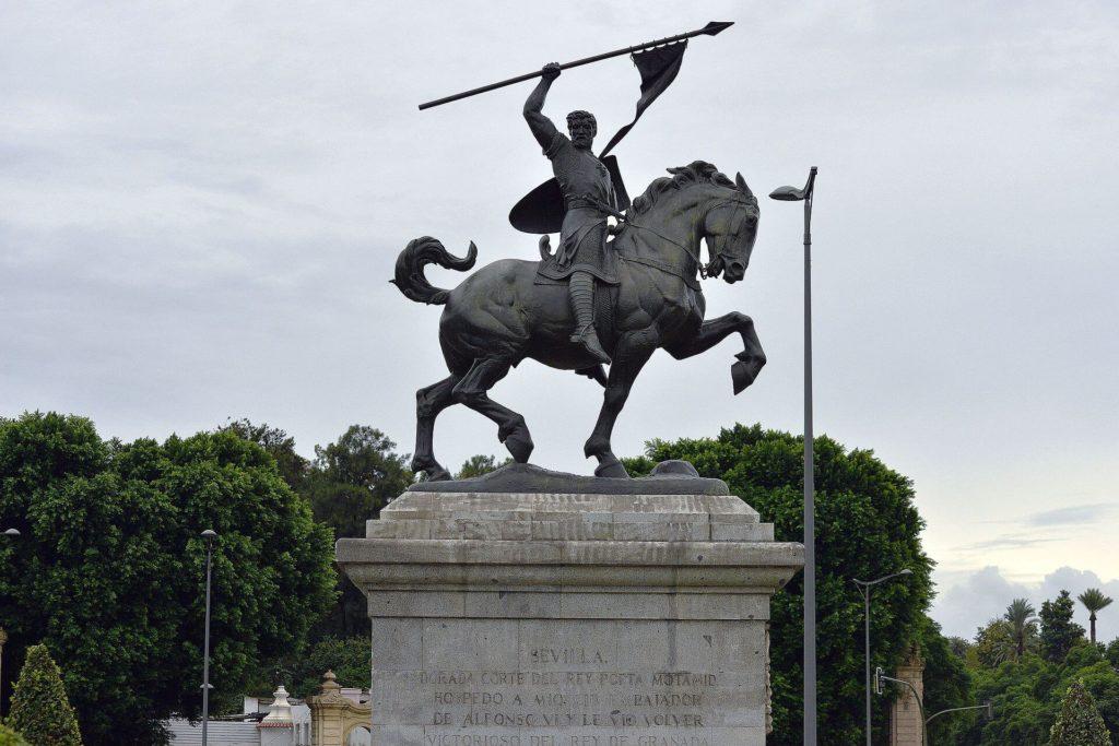 Estatua del cid Campeador Sevilla