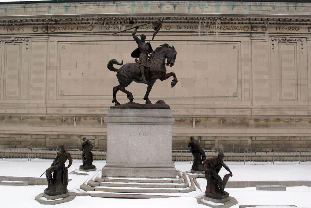 Estatua del cid Nueva York