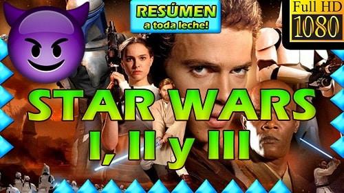 STAR WARS HISTORIA RESUMIDA
