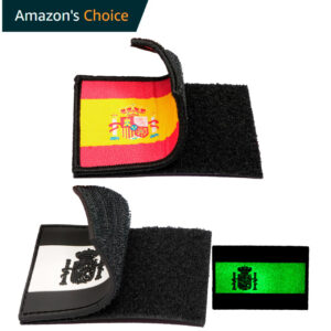 Parche Españ Velcro bordado amazon Choise