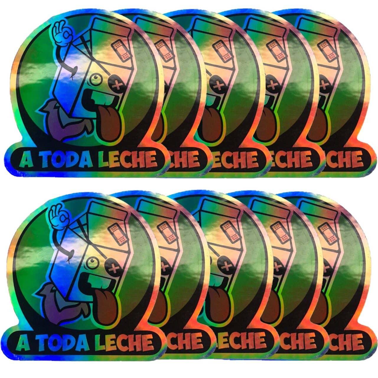 Pack de 10 Pegatinas Holográficas